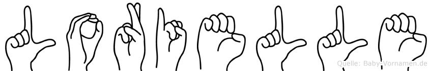 Lorielle in Fingersprache für Gehörlose