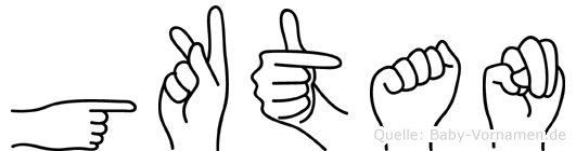 Göktan in Fingersprache für Gehörlose