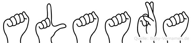 Alaara in Fingersprache für Gehörlose