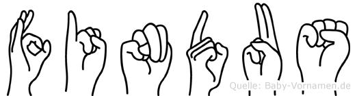 Findus in Fingersprache für Gehörlose