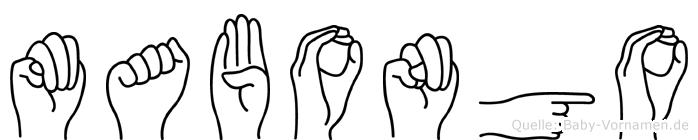 Mabongo in Fingersprache für Gehörlose