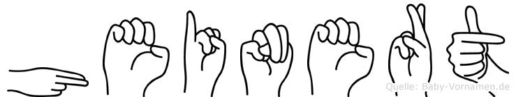 Heinert in Fingersprache für Gehörlose