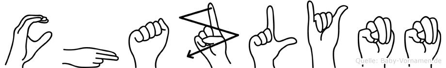 Chazlynn in Fingersprache für Gehörlose