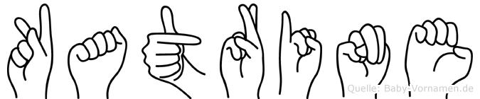 Katrine in Fingersprache für Gehörlose