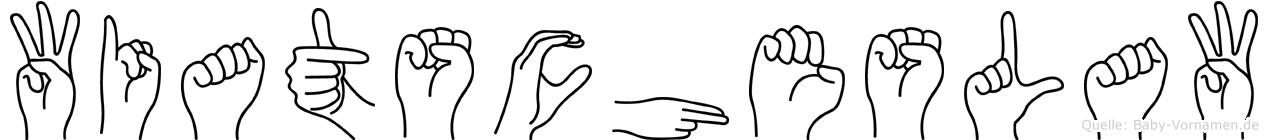 Wiatscheslaw in Fingersprache für Gehörlose