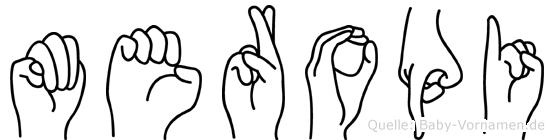 Meropi in Fingersprache für Gehörlose