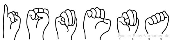 Ismena in Fingersprache für Gehörlose