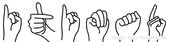 Itimad in Fingersprache für Gehörlose