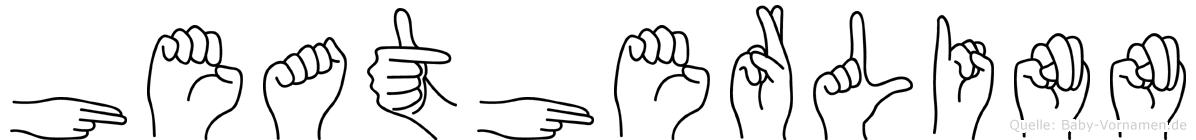 Heatherlinn in Fingersprache für Gehörlose