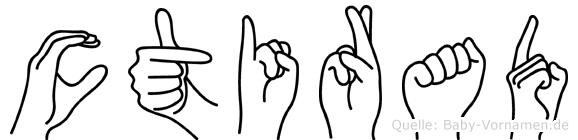 Ctirad im Fingeralphabet der Deutschen Gebärdensprache