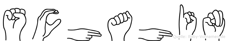 Schahin in Fingersprache für Gehörlose