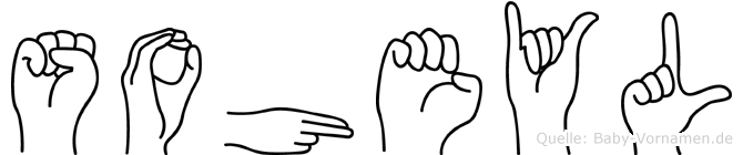 Soheyl im Fingeralphabet der Deutschen Gebärdensprache