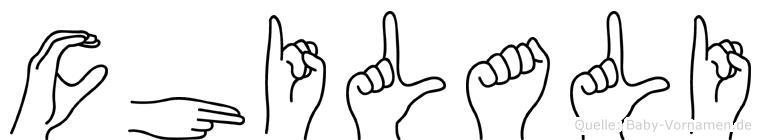 Chilali in Fingersprache für Gehörlose