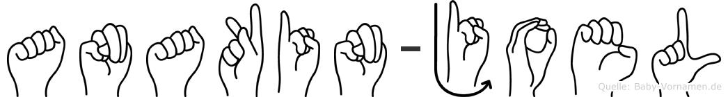 Anakin-Joel im Fingeralphabet der Deutschen Gebärdensprache