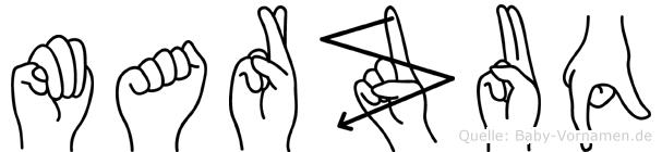 Marzuq in Fingersprache für Gehörlose