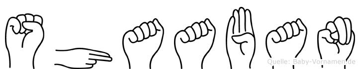 Shaaban im Fingeralphabet der Deutschen Gebärdensprache