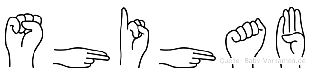 Shihab in Fingersprache für Gehörlose