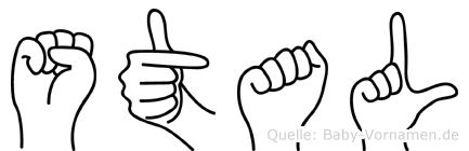 Stal in Fingersprache für Gehörlose
