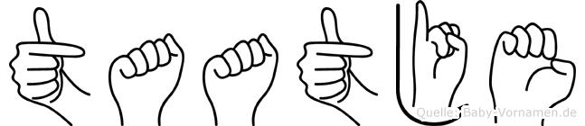 Taatje in Fingersprache für Gehörlose