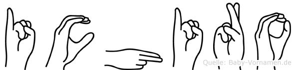 Ichiro in Fingersprache für Gehörlose