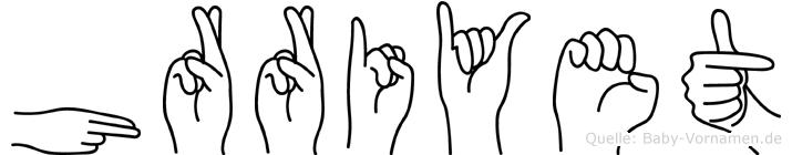 Hürriyet in Fingersprache für Gehörlose