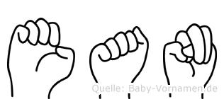 Ean in Fingersprache für Gehörlose