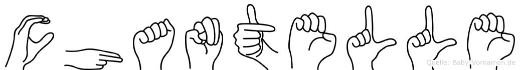 Chantelle in Fingersprache für Gehörlose