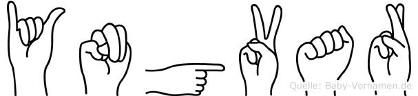 Yngvar in Fingersprache für Gehörlose