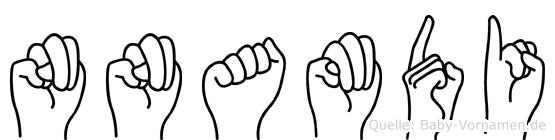 Nnamdi in Fingersprache für Gehörlose