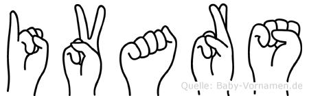 Ivars in Fingersprache für Gehörlose