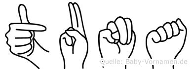 Tuna in Fingersprache für Gehörlose