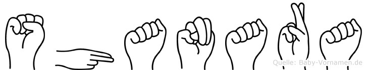 Shanara in Fingersprache für Gehörlose