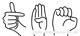 Töbe in Fingersprache für Gehörlose
