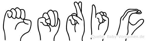 Enric in Fingersprache für Gehörlose