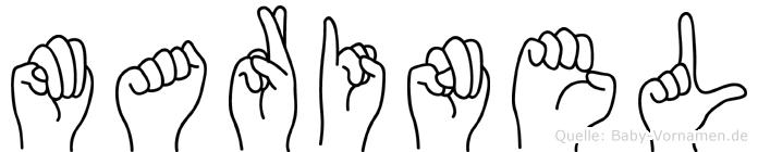 Marinel in Fingersprache für Gehörlose