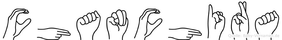 Chanchira in Fingersprache für Gehörlose