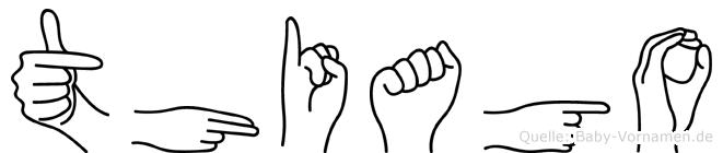 Thiago in Fingersprache für Gehörlose