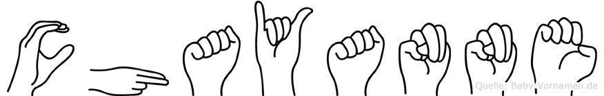 Chayanne in Fingersprache für Gehörlose