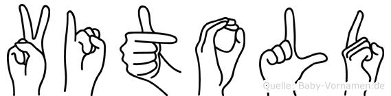 Vitold in Fingersprache für Gehörlose