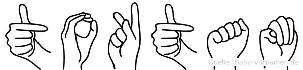 Toktam im Fingeralphabet der Deutschen Gebärdensprache