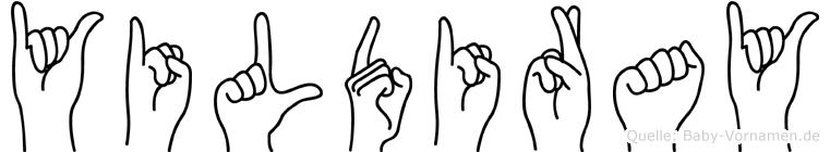 Yildiray in Fingersprache für Gehörlose