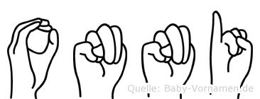 Onni in Fingersprache für Gehörlose