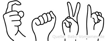 Xavi in Fingersprache für Gehörlose
