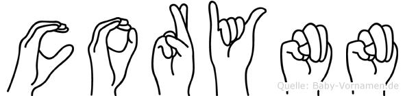 Corynn in Fingersprache für Gehörlose