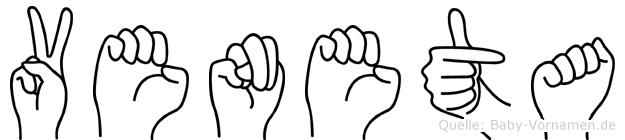 Veneta in Fingersprache für Gehörlose