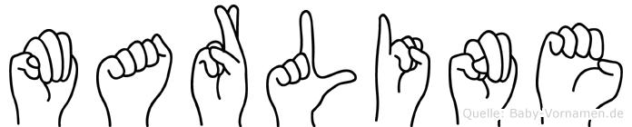 Marline in Fingersprache für Gehörlose