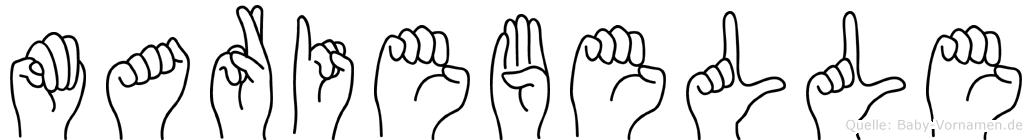 Mariebelle in Fingersprache für Gehörlose