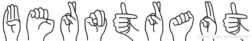 Berntraut in Fingersprache für Gehörlose