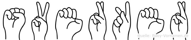 Sverker in Fingersprache für Gehörlose