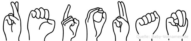 Redouan im Fingeralphabet der Deutschen Gebärdensprache